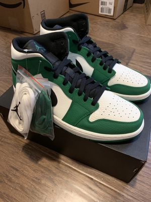 Air Jordan 1 Mid Pine Green: Size 12 for Sale in Houston, TX