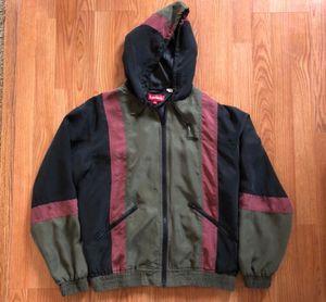 Supreme jacket olive burgundy and black hoodie for Sale in Santa Ana, CA
