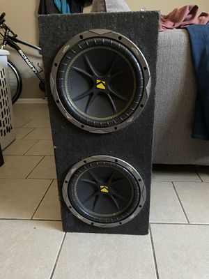 Kicker Subwoofers for Sale in Cicero, IL