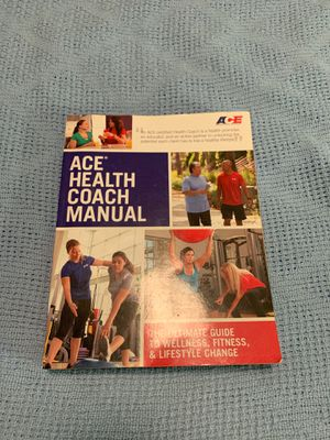 ACE Health Coach Manual for Sale in Westminster, CO