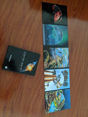 Planet Earth discovery 5 DVDs set. Excellent condition for Sale in San Gabriel, CA
