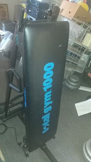 Total gym 1000 in excellent used condition some wear throughout with accessories pulley and push up bar see pictures for Sale in DeFuniak Springs, FL