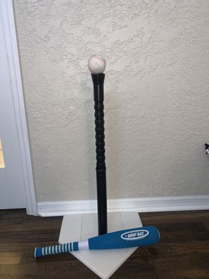 Toddler adjustable softball base bat and ball set for Sale in Wellington, FL