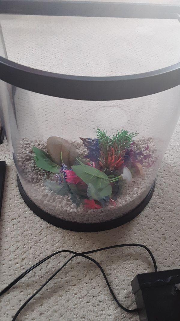 3.5 gallon top fin aquarium