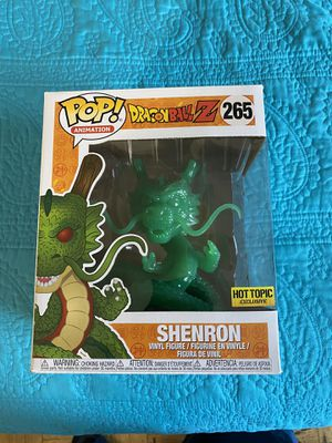 Funko pop Dragonball Z Hot Topic Exclusive Shenron Jade for Sale in Yonkers, NY