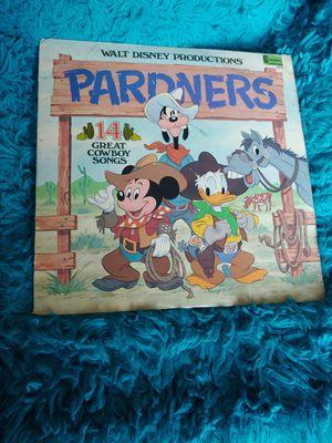 Walt Disney Pardners vinyl record for Sale in Watauga, TX