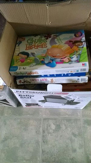 Box of kids games used but not destroyed for Sale in Auburn, WA