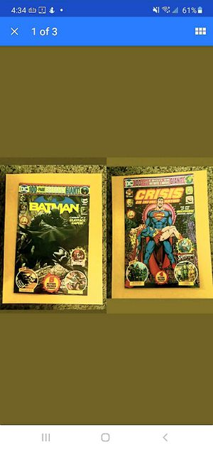 CRISIS ON INFINITE EARTH'S 100 PAGE SUPERMAN AND BATMAN BUNDLE 》 for Sale in Amarillo, TX