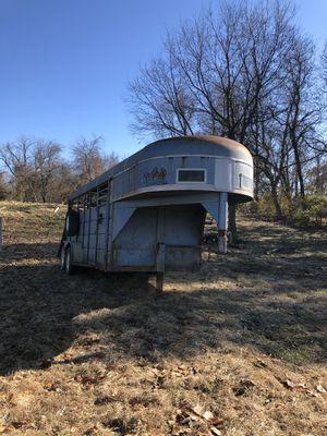 gooseneck stock trailer for Sale in Caseyville, IL