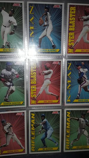 Baseball Cards SCORE 91 Rifleman for Sale in Montclair, CA