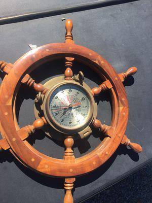 Antique Nautical wall clock for Sale in Vista, CA