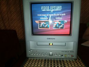 Orion portable mini TV with built-in dvd player Great for camper van motorhome for Sale in ELEVEN MILE, AZ