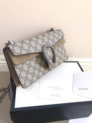 Authentic Gucci Dionysus brown bag with receipt for Sale in Los Angeles, CA