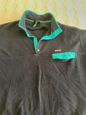 Patagonia Synchilla - Navy Blue and Teal - XXL for Sale in Chicago, IL