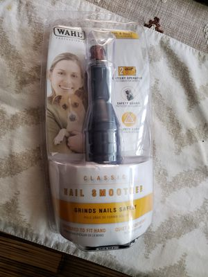 Wahl classic nail grinder for dogs for Sale in Pacifica, CA