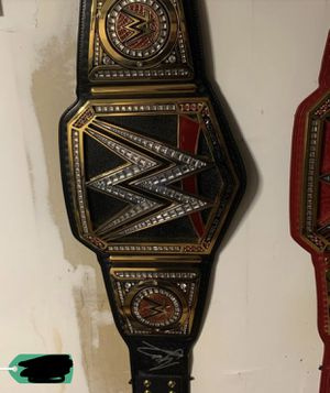 WWE championship signed AJ Styles for Sale in Staten Island, NY