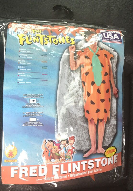 Brand New Fred Flintstone Halloween Costume