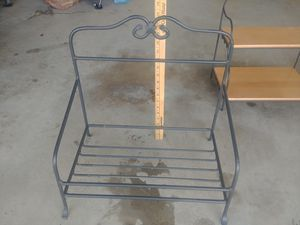Longaberger wrought iron Newspaper stand for Sale in Rocklin, CA