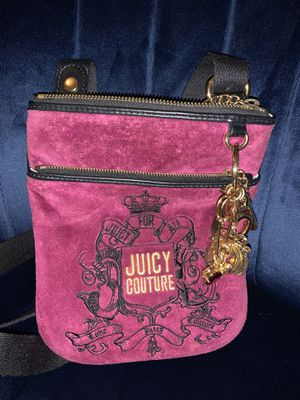 authentic juicy couture crossbody bag for Sale in Allen, TX