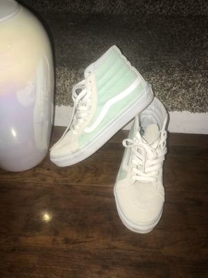 mint color vans size 7.5 women 6 men's excellent condition for Sale in Concord, CA