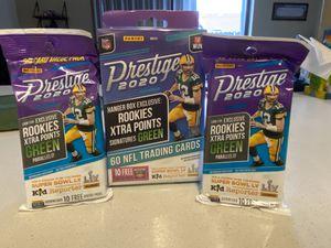 Brand new panini prestige NFL trading cards for Sale in Miami, FL