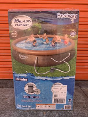 "Bestway 15' x 33"" Fast Set Pool for Sale in San Diego, CA"