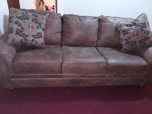 Full Couch & Love Seat (With Pillows) for Sale in Buffalo, NY