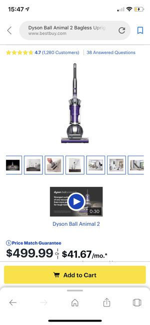 Dyson ball animal 2 for Sale in Fairfax, VA
