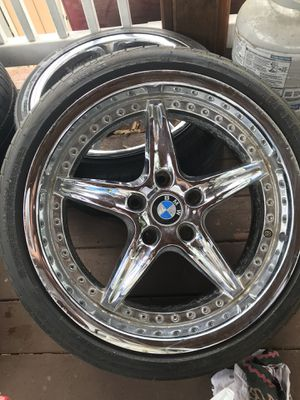 "BMW 18"" rims + 255/35/R18 for Sale in Washington, DC"