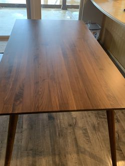 Mid-Century Modern   Solid Wood Table - Article Furniture for Sale in San Diego,  CA