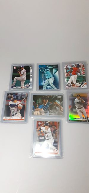 HOUSTON ASTROS CARDS COLLECTION for Sale in Houston, TX
