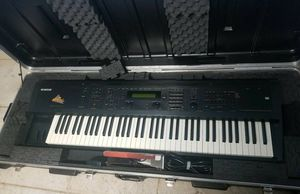 Ensoniq MR-76 Synthesizer Keyboard Synth Controller w/ Hardshell Case for Sale in Los Angeles, CA