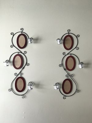 Picture and candle wall sconces for Sale in Jupiter, FL
