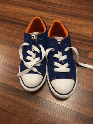Brand new without tags size 2 converse boys for Sale in Annandale, VA