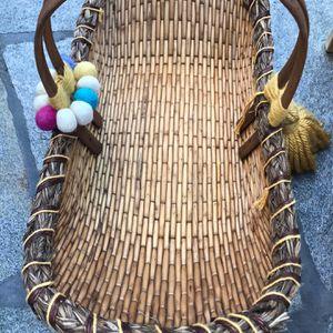 Doll Carrier, Basket, Bassinet, Wicker,cane for Sale in Laguna Niguel, CA