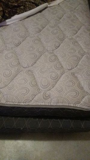 Kingsize bed box spring and frame for Sale in Macon, GA