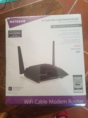 Netgear Cable Modem for Sale in Abilene, TX