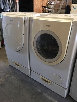 Bosch Washer/Dryer Electric Set for Sale in Stockton, CA