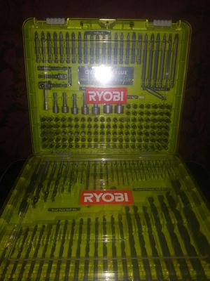 Ryobi drill bit set for Sale in Salem, VA