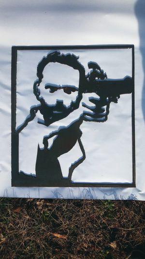 Twd rick grimes steel cutout for Sale in Poca, WV