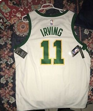 Brand NEW #11 KYRIE IRVING BOSTON CELTICS Nike City Edition Mens Jersey RARE for Sale in Miami, FL