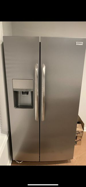 Brand New Stainless Steel Side-by-Side Counter-Depth Refrigerator for Sale in Falls Church, VA