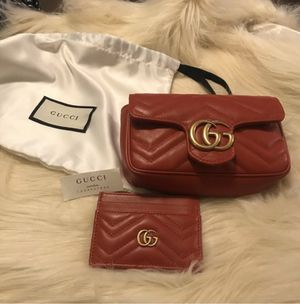 Gucci mini bag 100% real ( with autentic proof ) for Sale in Irving, TX