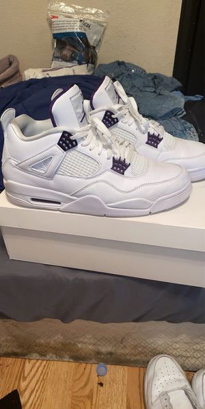 "Metallic Pack ""Court Purple"" Jordan 4s for Sale in Denver, CO"