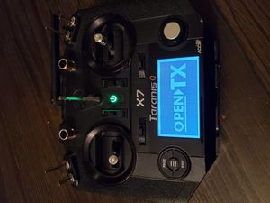 Frsky qx7 with LONG RANGE ezuhf jr modlue for DRONE for Sale in Bakersfield, CA