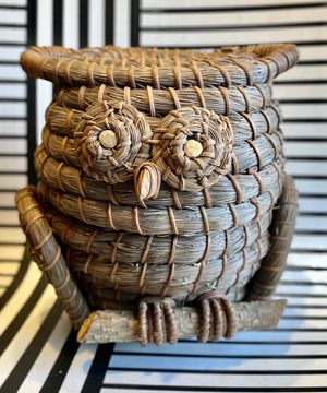 Vintage Native American Pine Needle Owl for Sale in Lewisberry, PA