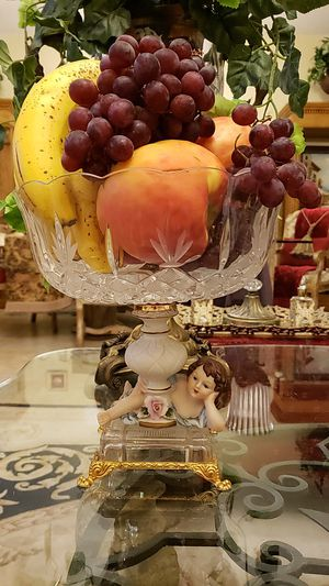 Beautiful antique crystal fruit bowl/table centerpiece for Sale in Lake Worth, FL