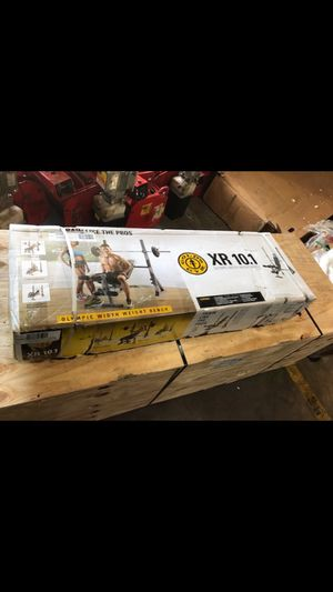 Brand new- Gold's Gym XR 10.1 Weight Bench for Sale in Charlotte, NC