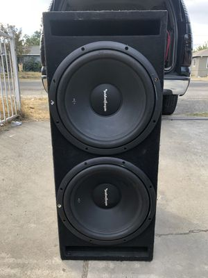 "Rockford Fosgate R1s 12"" for Sale in Fresno, CA"
