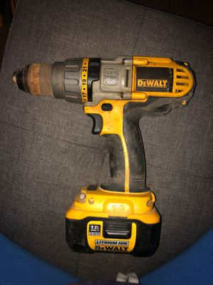 DeWalt cordless drill hammerdrill for Sale in Lemon Grove, CA